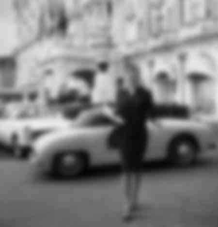 Marie Laforet à Cannes en 1961