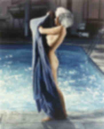 Marilyn in the pool