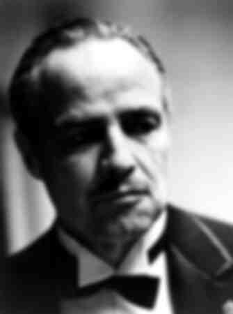 Marlon Brando dans le rôle de Don Vito Corleone