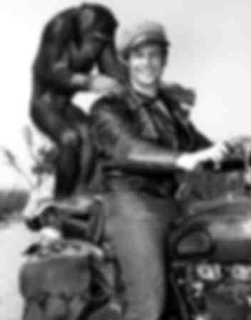 Marlon Brando and buddy