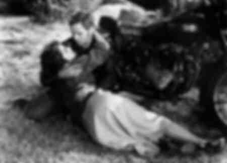 Mary Murphy and Marlon Brando