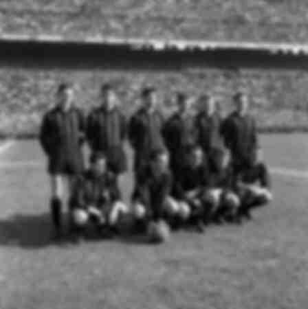 Match between Milan and Juventus 1961