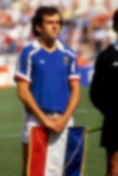 Michel Platini nel 1986