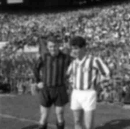 Milan versus Juventus 1961