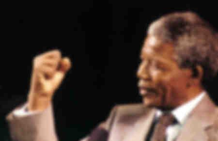 Nelson Mandela im Jahr 1994