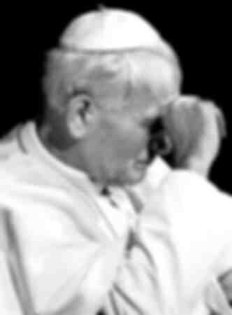 Papst Johannes Paul II. In Verona 1988