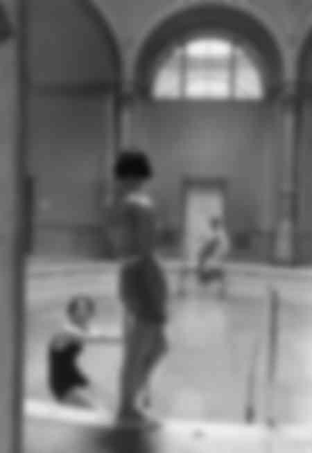 Piscine d'intérieur en 1936