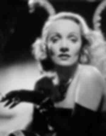 Portrait of Marlene Dietrich in 1942