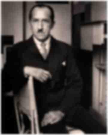 Porträtt av Piet Mondrian