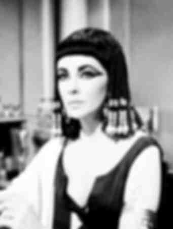 porträtt Elizabeth Taylor 1963