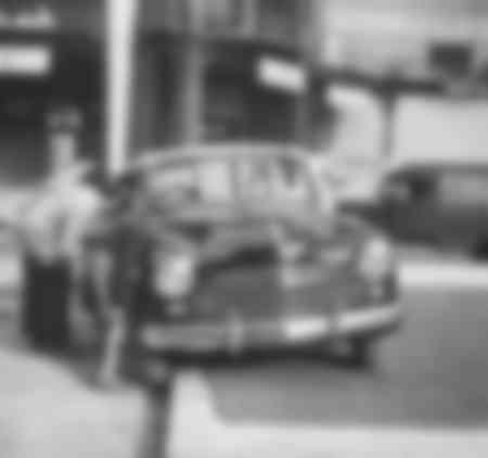Préparatif du Salon de l'Automobile 1951