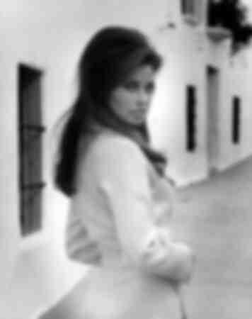 Raquel Welch in Malaga 1960