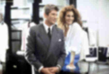 Richard Gere y Julia Roberts en 990