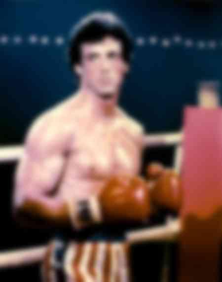 Rocky III nel 1982