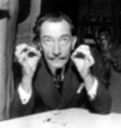 Salvador Dali in 1956