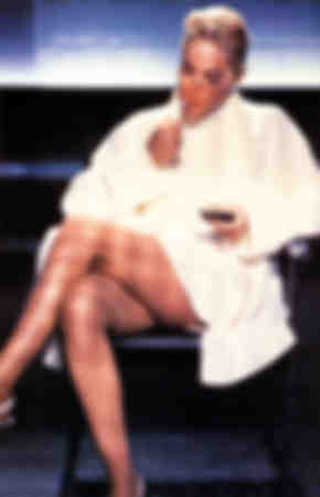Sharon Stone dans Basic Instinct 1992