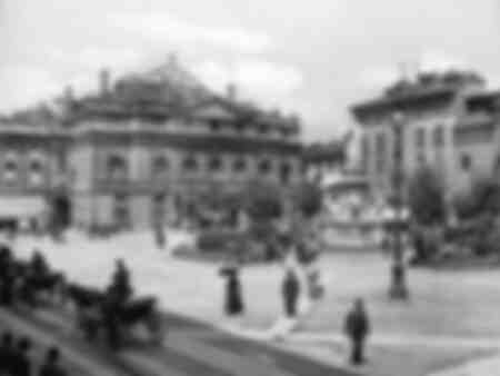 Square of the Scala at Milan