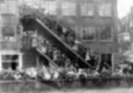 Storm flood of 1916 - Amsterdam