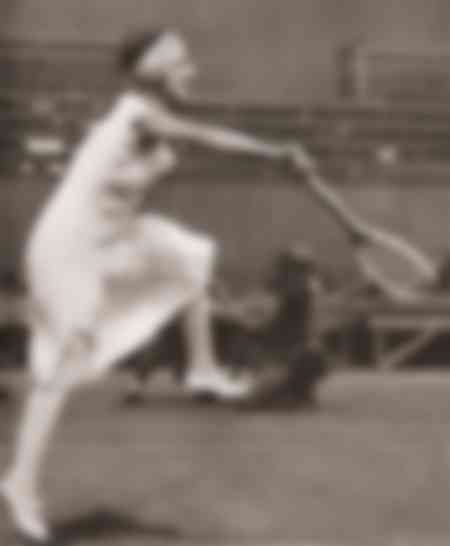 Suzanne Lenglen at Wimbledon in 1919