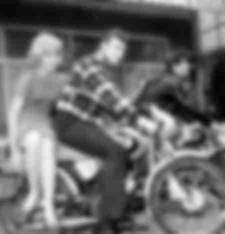 Sylvie Vartan et Johnny Hallyday en 1963
