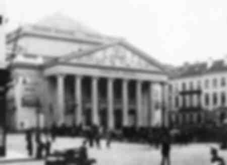 Theater Royal de la Monnaie - Brussels - 1917