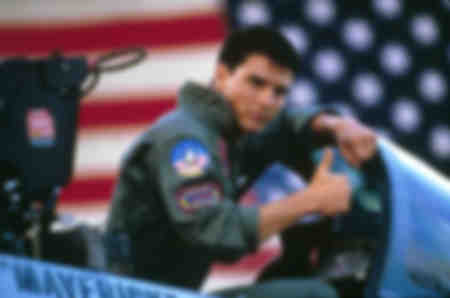 Tom Cruise Top Gun 1986