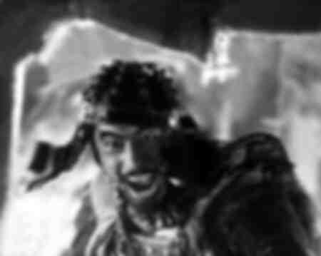 Toshiro Mifune as one of the samurai 1954