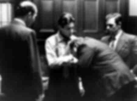 Dreharbeiten zum Film The Godfather - 1974