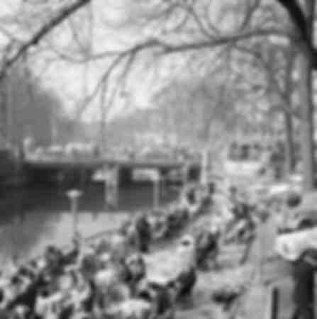 Un canal à Amsterdam