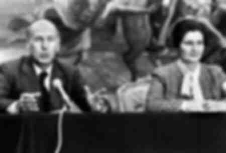 Valery Giscard D'Estaing and Simone Veil