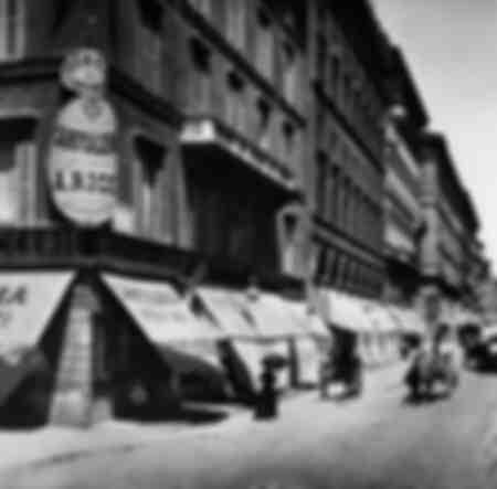Via del tritone - Roma -1890