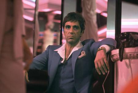 Al Pacino dans une scène du film Scarface