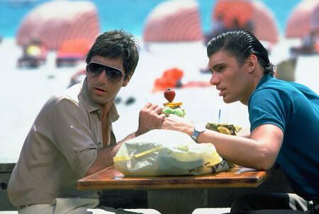 Poster Al Pacino e Steven Bauer in Scarface – Compra poster e quadri online