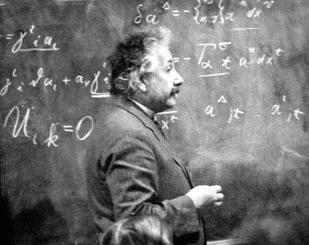 Albert Einstein dans les années 1930
