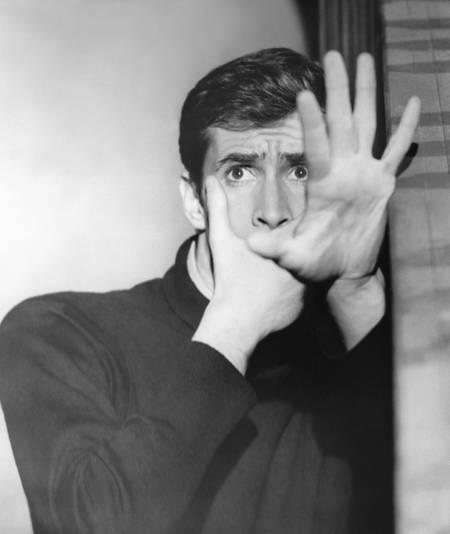 Anthony Perkins dans Psychose