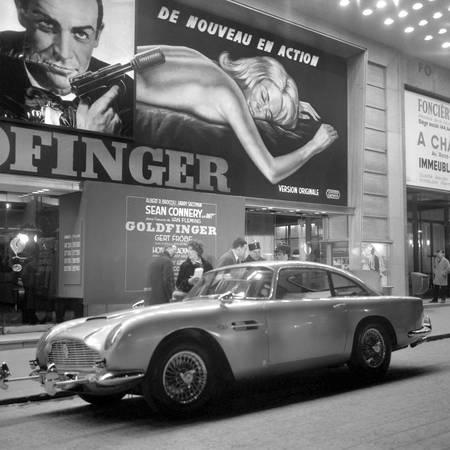 Aston Martin DB5 by James Bond