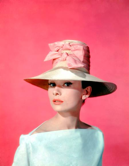 Audrey Hepburn in the movie Funny Face