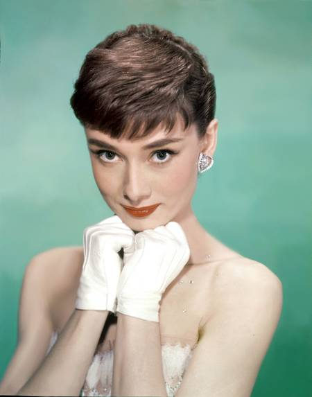 Audrey Hepburn in dem Film Sabrina...