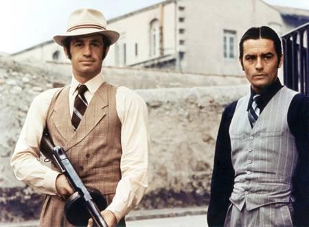 Belmondo et Delon dans Borsalino