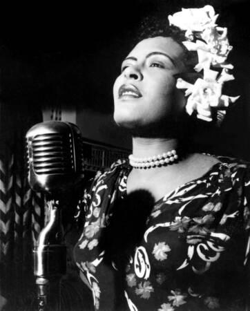 Billie Holiday in den 1940er Jahren