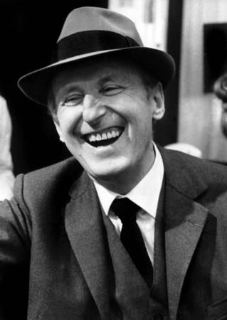 Bourvil shooting in 1970