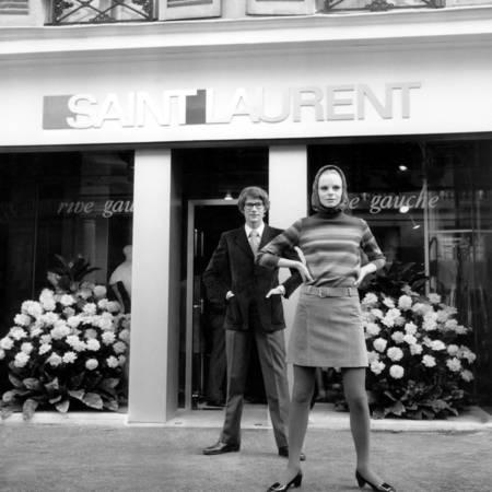 Yves Saint Laurent shop