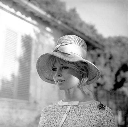 Brigitte Bardot in costume