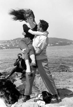 Brigitte Bardot and Carl Mohner