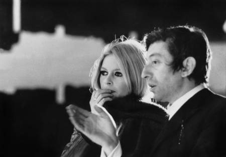 Brigitte Bardot and Serge Gainsbourg in 1967