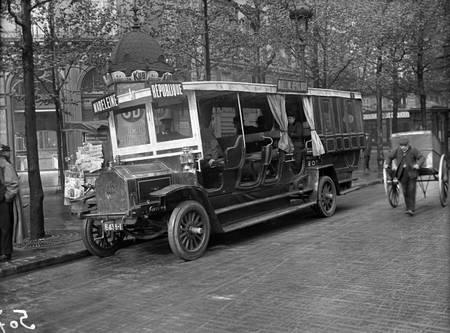 Bus Madeleine république en 1915