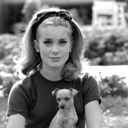 Catherine Deneuve in 1962