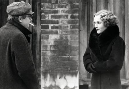 Claude Chabrol et Isabelle Huppert en 1978