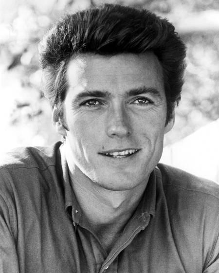 Clint Eastwood nel 1962