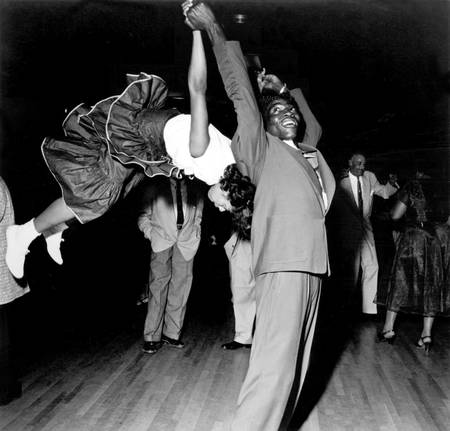 Couple dancing at the Savoy Ballroom in New York